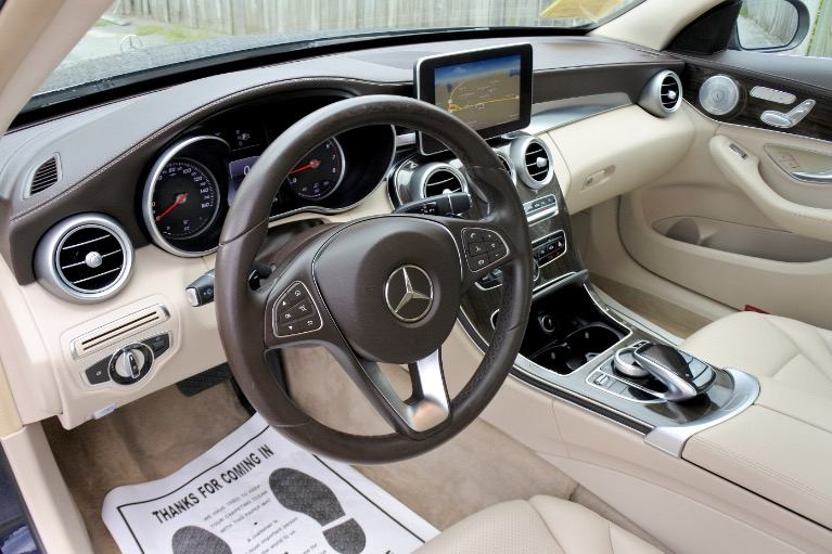 Used 2015 Mercedes-Benz C-class C300 Luxury 4MATIC Used 2015 Mercedes-Benz C-class C300 Luxury 4MATIC for sale  at Metro West Motorcars LLC in Shrewsbury MA 13