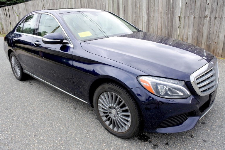 Used 2015 Mercedes-Benz C-class C300 Luxury 4MATIC Used 2015 Mercedes-Benz C-class C300 Luxury 4MATIC for sale  at Metro West Motorcars LLC in Shrewsbury MA 7