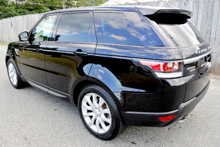 Used 2014 Land Rover Range Rover Sport Supercharged Used 2014 Land Rover Range Rover Sport Supercharged for sale  at Metro West Motorcars LLC in Shrewsbury MA 3