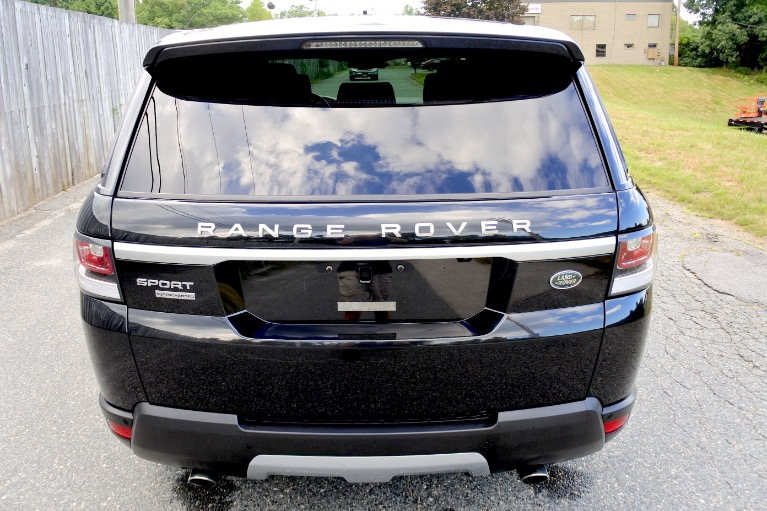 Used 2014 Land Rover Range Rover Sport Supercharged Used 2014 Land Rover Range Rover Sport Supercharged for sale  at Metro West Motorcars LLC in Shrewsbury MA 4
