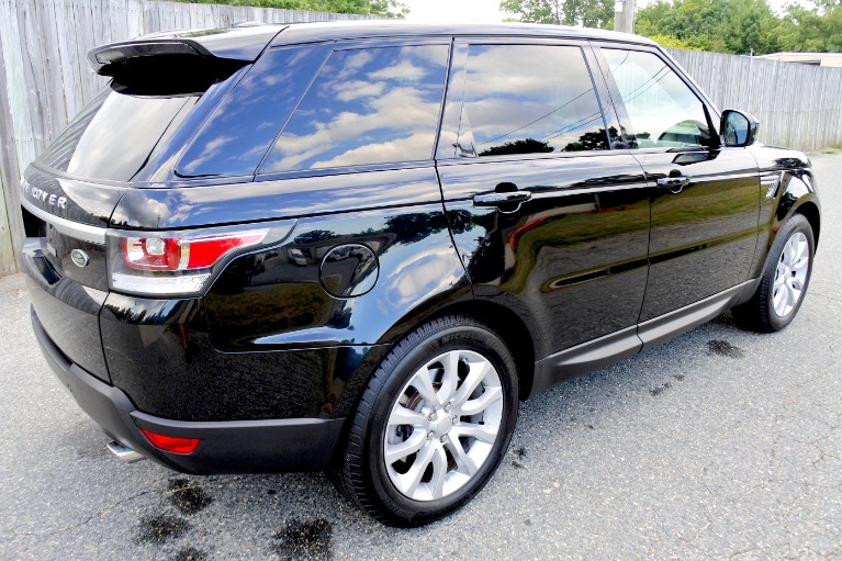 Used 2014 Land Rover Range Rover Sport Supercharged Used 2014 Land Rover Range Rover Sport Supercharged for sale  at Metro West Motorcars LLC in Shrewsbury MA 5