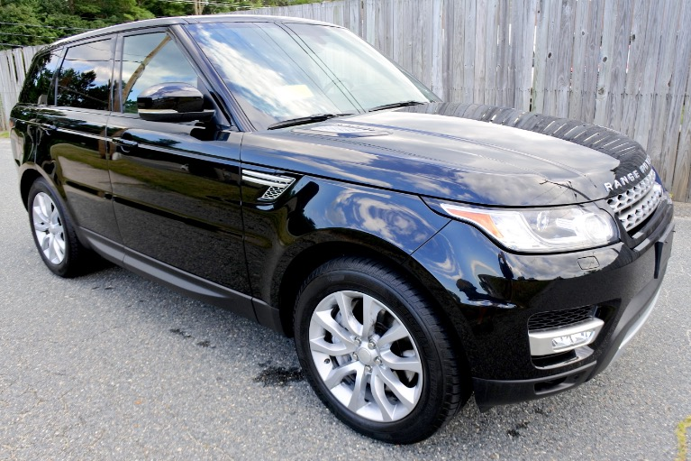 Used 2014 Land Rover Range Rover Sport Supercharged Used 2014 Land Rover Range Rover Sport Supercharged for sale  at Metro West Motorcars LLC in Shrewsbury MA 7