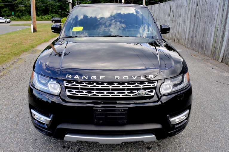 Used 2014 Land Rover Range Rover Sport Supercharged Used 2014 Land Rover Range Rover Sport Supercharged for sale  at Metro West Motorcars LLC in Shrewsbury MA 8