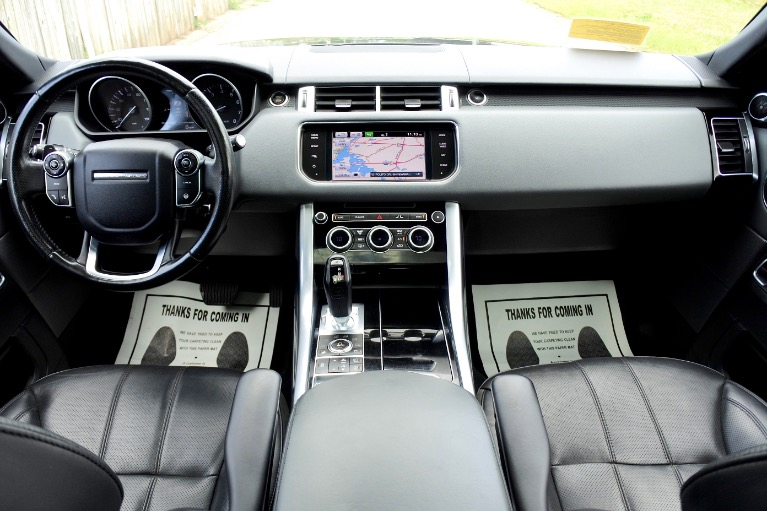 Used 2014 Land Rover Range Rover Sport Supercharged Used 2014 Land Rover Range Rover Sport Supercharged for sale  at Metro West Motorcars LLC in Shrewsbury MA 9