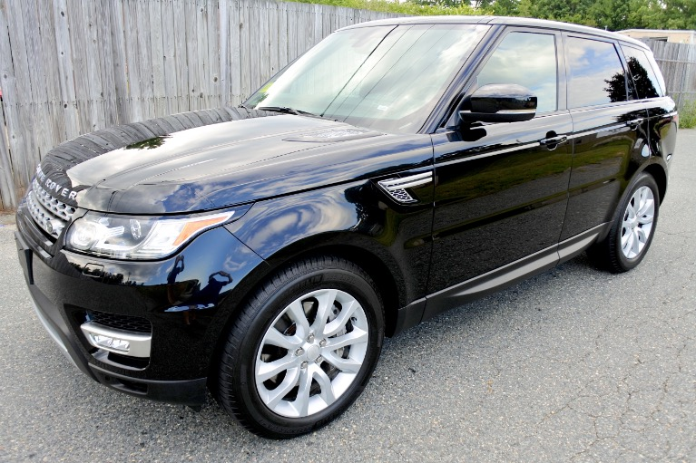Used 2014 Land Rover Range Rover Sport Supercharged Used 2014 Land Rover Range Rover Sport Supercharged for sale  at Metro West Motorcars LLC in Shrewsbury MA 1
