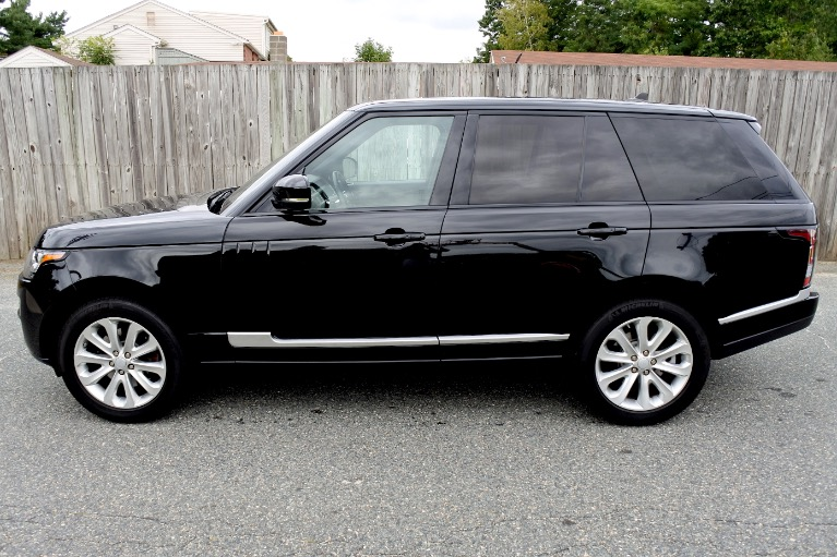 Used 2016 Land Rover Range Rover HSE Diesel 4WD Used 2016 Land Rover Range Rover HSE Diesel 4WD for sale  at Metro West Motorcars LLC in Shrewsbury MA 2