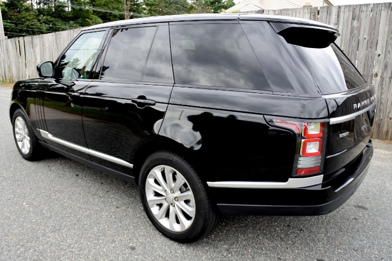 Used 2016 Land Rover Range Rover HSE Diesel 4WD Used 2016 Land Rover Range Rover HSE Diesel 4WD for sale  at Metro West Motorcars LLC in Shrewsbury MA 3