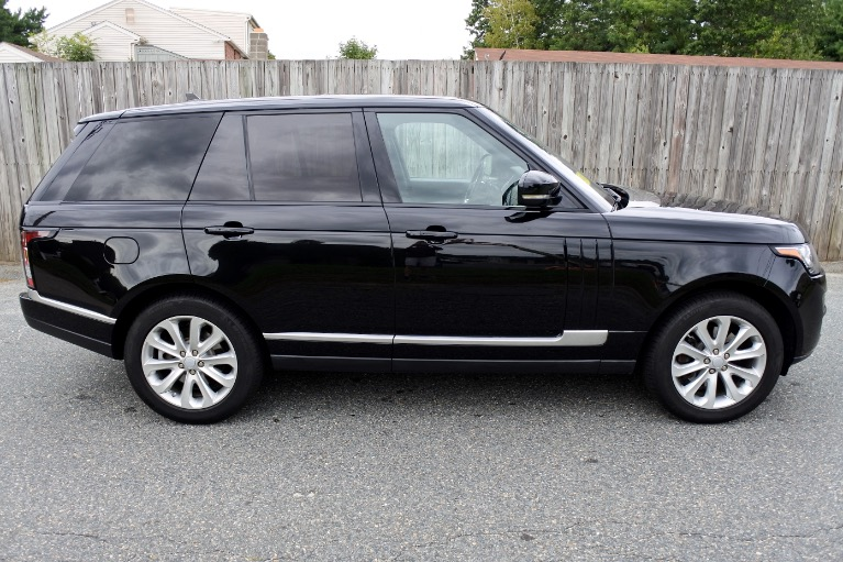 Used 2016 Land Rover Range Rover HSE Diesel 4WD Used 2016 Land Rover Range Rover HSE Diesel 4WD for sale  at Metro West Motorcars LLC in Shrewsbury MA 6