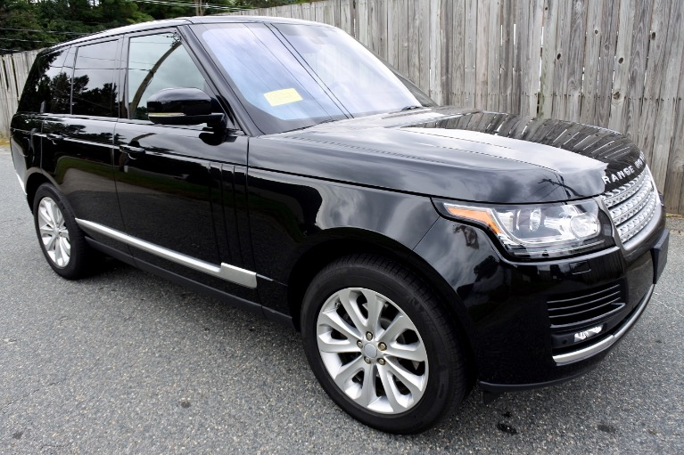 Used 2016 Land Rover Range Rover HSE Diesel 4WD Used 2016 Land Rover Range Rover HSE Diesel 4WD for sale  at Metro West Motorcars LLC in Shrewsbury MA 7