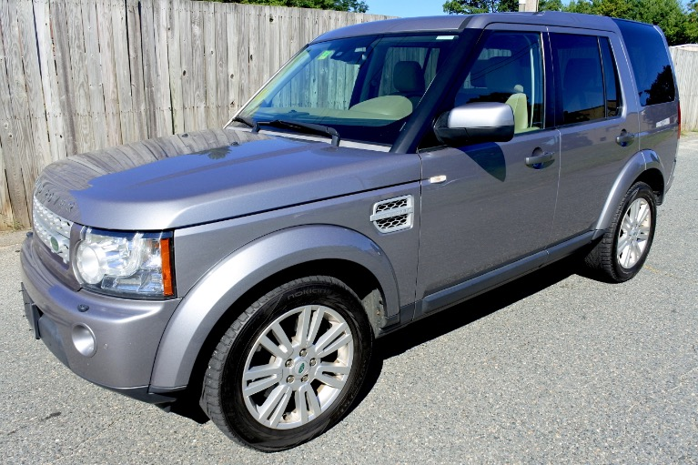 Used Used 2012 Land Rover Lr4 4WD 4dr HSE for sale $14,800 at Metro West Motorcars LLC in Shrewsbury MA