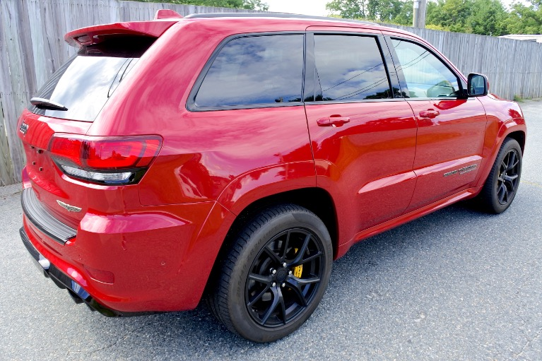Used 2018 Jeep Grand Cherokee Trackhawk 4x4 Used 2018 Jeep Grand Cherokee Trackhawk 4x4 for sale  at Metro West Motorcars LLC in Shrewsbury MA 5