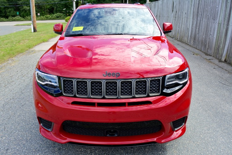 Used 2018 Jeep Grand Cherokee Trackhawk 4x4 Used 2018 Jeep Grand Cherokee Trackhawk 4x4 for sale  at Metro West Motorcars LLC in Shrewsbury MA 8