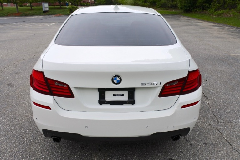 Used 2012 BMW 5 Series 535i xDrive M Sport AWD Used 2012 BMW 5 Series 535i xDrive M Sport AWD for sale  at Metro West Motorcars LLC in Shrewsbury MA 4