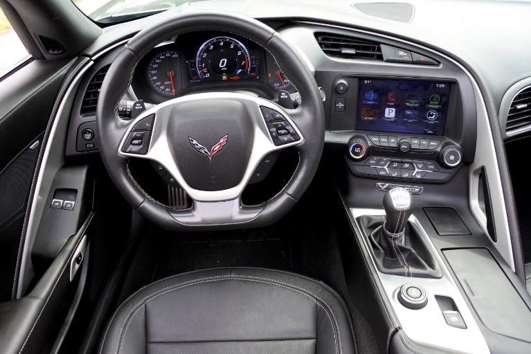 Used 2016 Chevrolet Corvette Stingray Coupe Z51 Cpe w/1LT Used 2016 Chevrolet Corvette Stingray Coupe Z51 Cpe w/1LT for sale  at Metro West Motorcars LLC in Shrewsbury MA 15