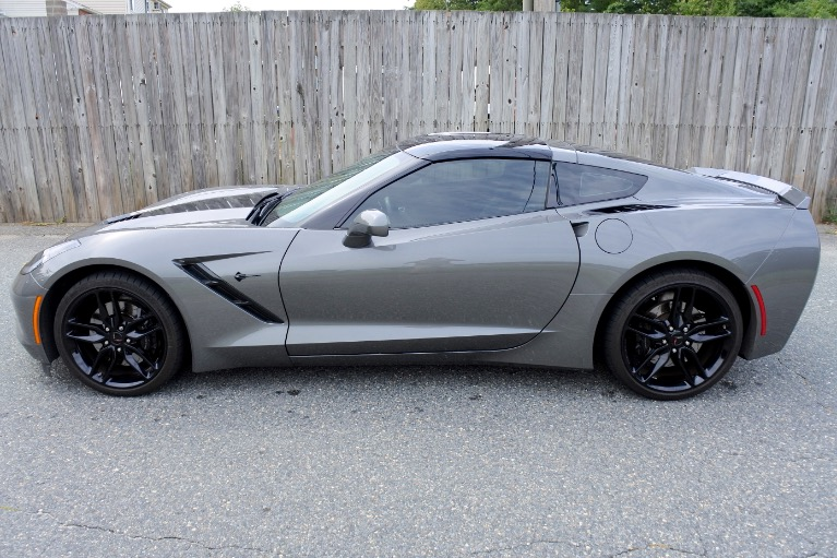Used 2016 Chevrolet Corvette Stingray Coupe Z51 Cpe w/1LT Used 2016 Chevrolet Corvette Stingray Coupe Z51 Cpe w/1LT for sale  at Metro West Motorcars LLC in Shrewsbury MA 4