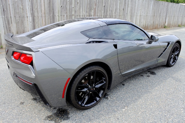 Used 2016 Chevrolet Corvette Stingray Coupe Z51 Cpe w/1LT Used 2016 Chevrolet Corvette Stingray Coupe Z51 Cpe w/1LT for sale  at Metro West Motorcars LLC in Shrewsbury MA 9