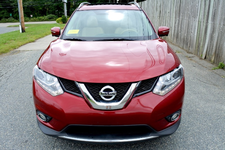 Used 2015 Nissan Rogue AWD SL Used 2015 Nissan Rogue AWD SL for sale  at Metro West Motorcars LLC in Shrewsbury MA 8
