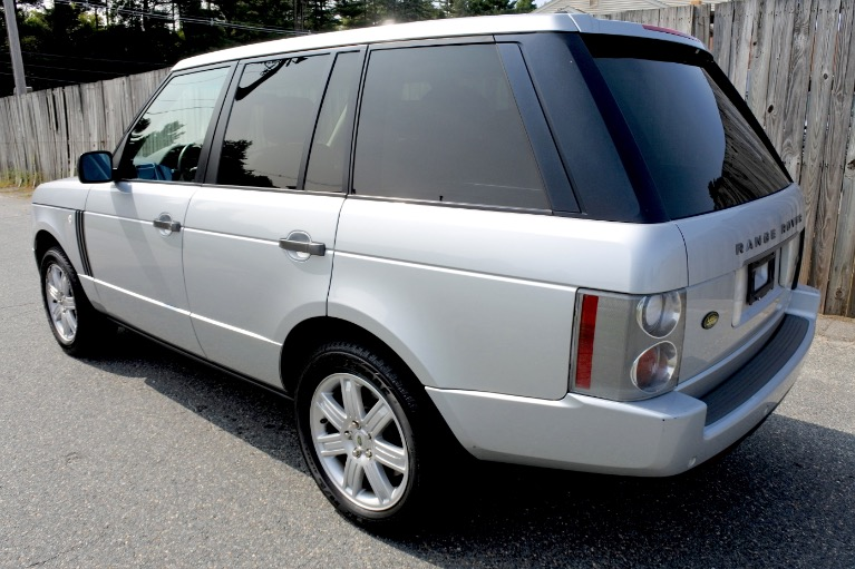 Used 2008 Land Rover Range Rover HSE Used 2008 Land Rover Range Rover HSE for sale  at Metro West Motorcars LLC in Shrewsbury MA 3