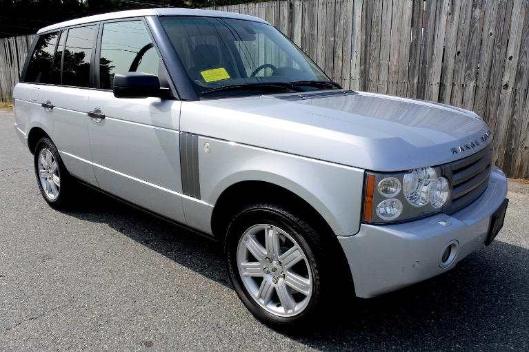 Used 2008 Land Rover Range Rover HSE Used 2008 Land Rover Range Rover HSE for sale  at Metro West Motorcars LLC in Shrewsbury MA 7
