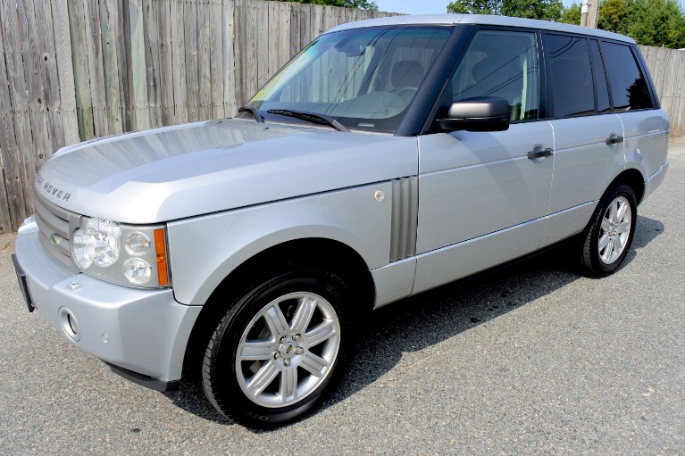 Used Used 2008 Land Rover Range Rover HSE for sale $8,800 at Metro West Motorcars LLC in Shrewsbury MA