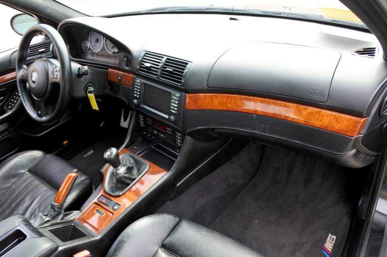 Used 2001 BMW 5 Series M5 4dr Sdn 6-Spd Manual Used 2001 BMW 5 Series M5 4dr Sdn 6-Spd Manual for sale  at Metro West Motorcars LLC in Shrewsbury MA 20