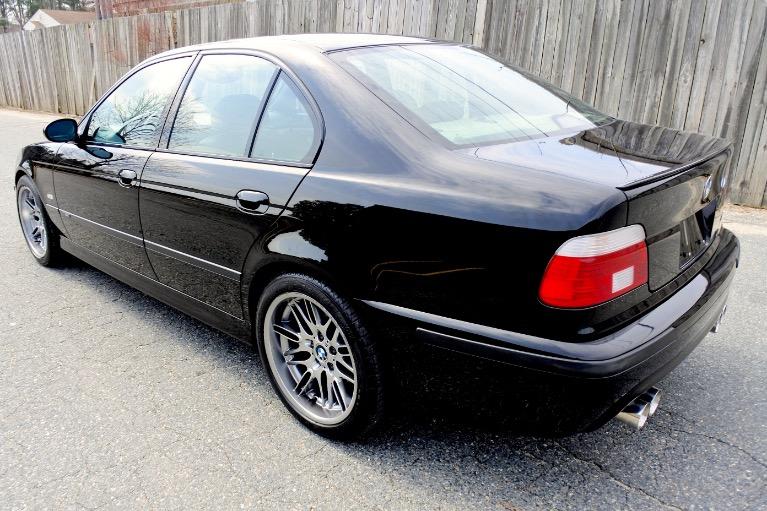 Used 2001 BMW 5 Series M5 4dr Sdn 6-Spd Manual Used 2001 BMW 5 Series M5 4dr Sdn 6-Spd Manual for sale  at Metro West Motorcars LLC in Shrewsbury MA 3