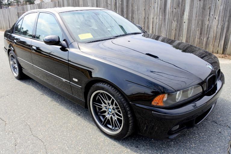 Used 2001 BMW 5 Series M5 4dr Sdn 6-Spd Manual Used 2001 BMW 5 Series M5 4dr Sdn 6-Spd Manual for sale  at Metro West Motorcars LLC in Shrewsbury MA 7