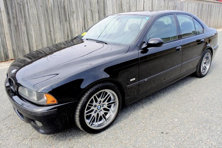 Used 2001 BMW 5 Series M5 4dr Sdn 6-Spd Manual Used 2001 BMW 5 Series M5 4dr Sdn 6-Spd Manual for sale  at Metro West Motorcars LLC in Shrewsbury MA 1