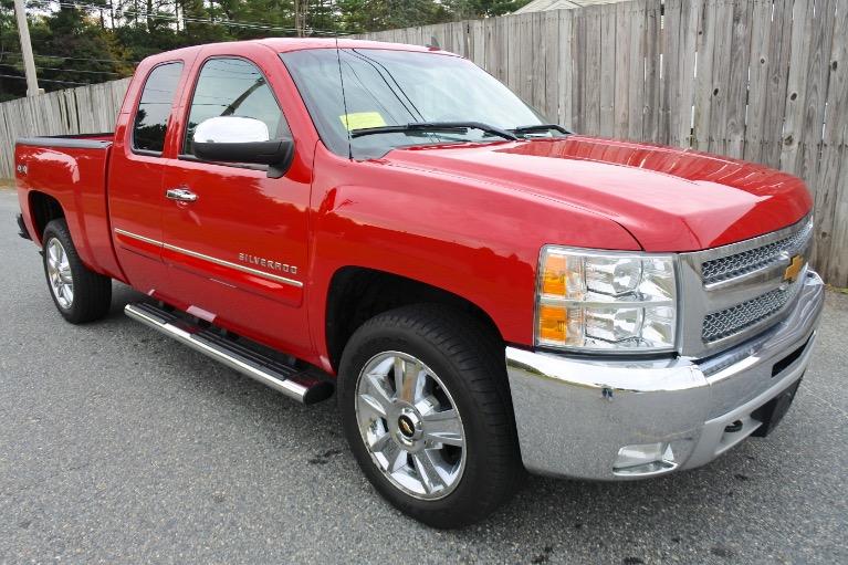 Used 2012 Chevrolet Silverado 1500 4WD Ext Cab 143.5' LT Used 2012 Chevrolet Silverado 1500 4WD Ext Cab 143.5' LT for sale  at Metro West Motorcars LLC in Shrewsbury MA 7