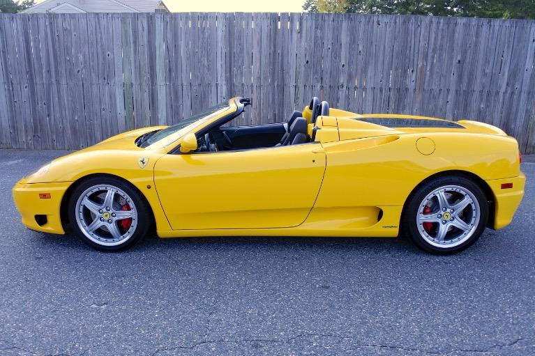 Used 2004 Ferrari 360 Spider 6M Used 2004 Ferrari 360 Spider 6M for sale  at Metro West Motorcars LLC in Shrewsbury MA 2