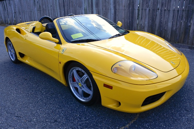 Used 2004 Ferrari 360 Spider 6M Used 2004 Ferrari 360 Spider 6M for sale  at Metro West Motorcars LLC in Shrewsbury MA 7