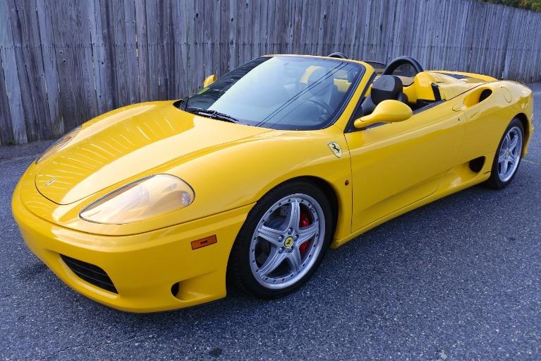 Used Used 2004 Ferrari 360 Spider 6M for sale $118,800 at Metro West Motorcars LLC in Shrewsbury MA