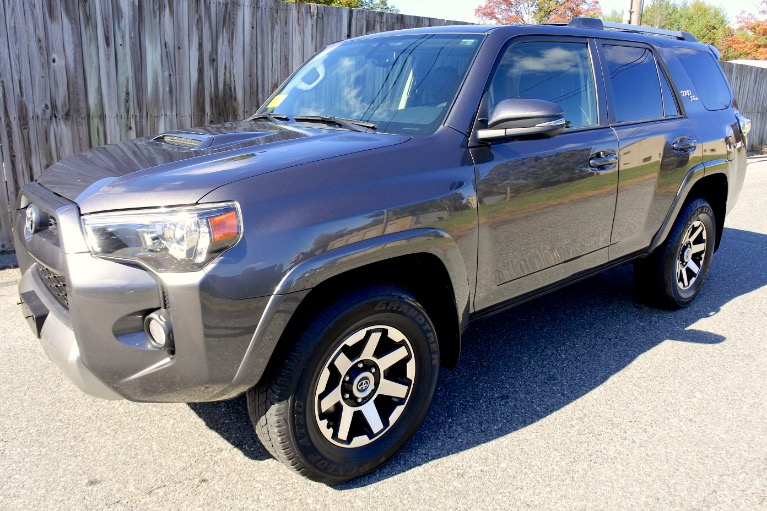 Used 2018 Toyota 4runner TRD Off Road Premium 4WD (Natl) Used 2018 Toyota 4runner TRD Off Road Premium 4WD (Natl) for sale  at Metro West Motorcars LLC in Shrewsbury MA 1