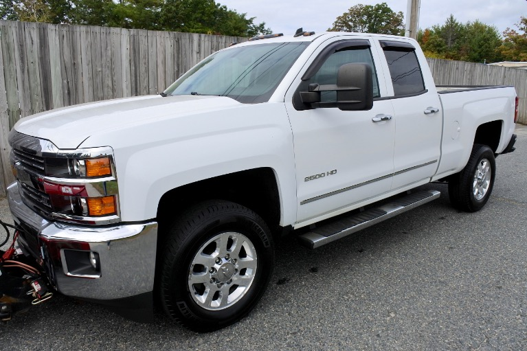 Used 2015 Chevrolet Silverado 2500hd 4WD Double Cab 144.2' LTZ Used 2015 Chevrolet Silverado 2500hd 4WD Double Cab 144.2' LTZ for sale  at Metro West Motorcars LLC in Shrewsbury MA 2