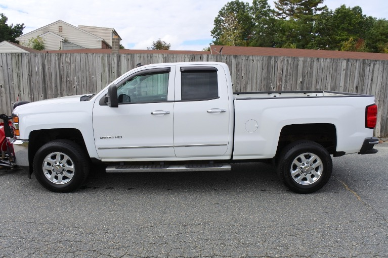 Used 2015 Chevrolet Silverado 2500hd 4WD Double Cab 144.2' LTZ Used 2015 Chevrolet Silverado 2500hd 4WD Double Cab 144.2' LTZ for sale  at Metro West Motorcars LLC in Shrewsbury MA 3