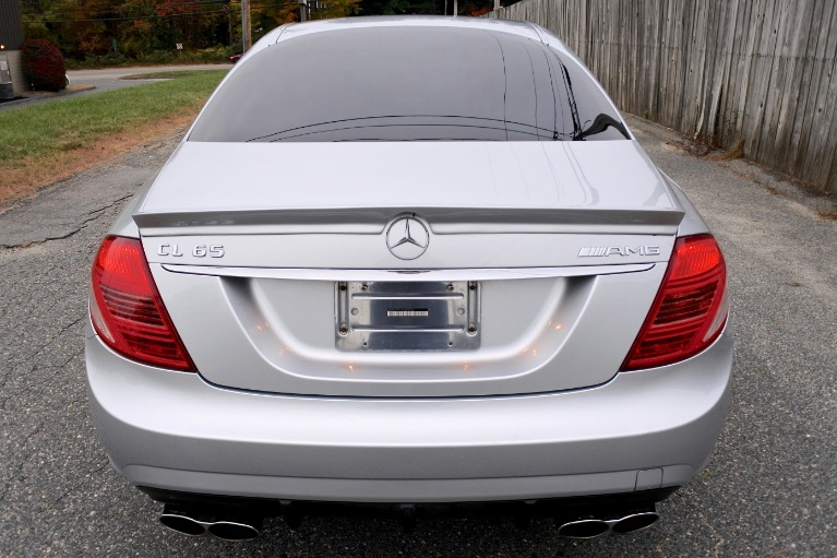 Used 2009 Mercedes-Benz Cl-class 65 AMG 6.0L V12 Biturbo Used 2009 Mercedes-Benz Cl-class 65 AMG 6.0L V12 Biturbo for sale  at Metro West Motorcars LLC in Shrewsbury MA 4