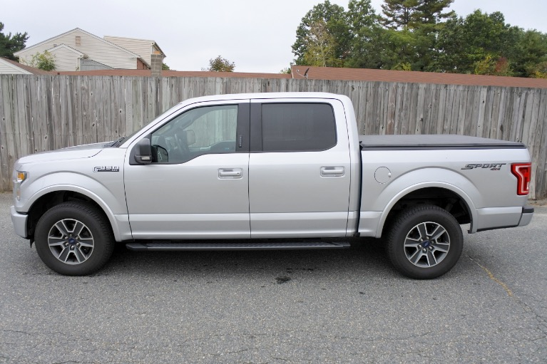Used 2015 Ford F-150 4WD SuperCrew 145' XLT Used 2015 Ford F-150 4WD SuperCrew 145' XLT for sale  at Metro West Motorcars LLC in Shrewsbury MA 2