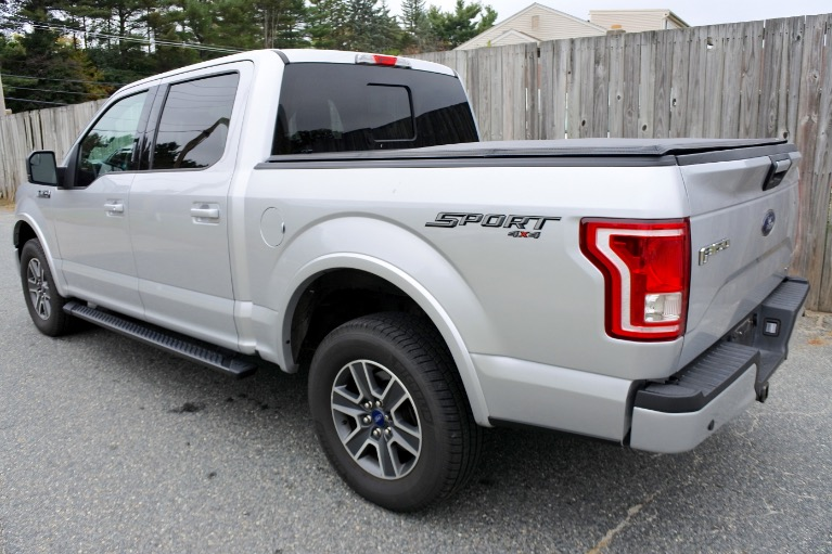 Used 2015 Ford F-150 4WD SuperCrew 145' XLT Used 2015 Ford F-150 4WD SuperCrew 145' XLT for sale  at Metro West Motorcars LLC in Shrewsbury MA 3