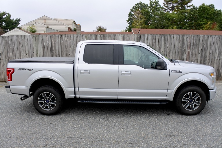 Used 2015 Ford F-150 4WD SuperCrew 145' XLT Used 2015 Ford F-150 4WD SuperCrew 145' XLT for sale  at Metro West Motorcars LLC in Shrewsbury MA 6