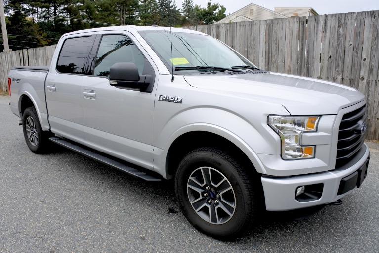 Used 2015 Ford F-150 4WD SuperCrew 145' XLT Used 2015 Ford F-150 4WD SuperCrew 145' XLT for sale  at Metro West Motorcars LLC in Shrewsbury MA 7