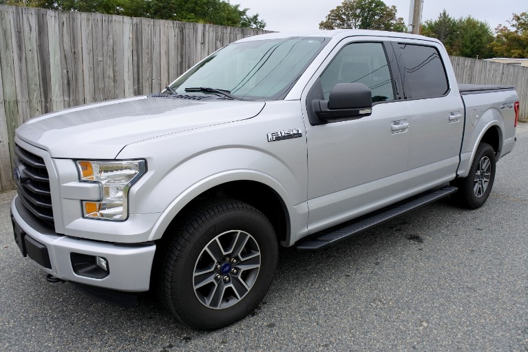 Used 2015 Ford F-150 4WD SuperCrew 145' XLT Used 2015 Ford F-150 4WD SuperCrew 145' XLT for sale  at Metro West Motorcars LLC in Shrewsbury MA 1