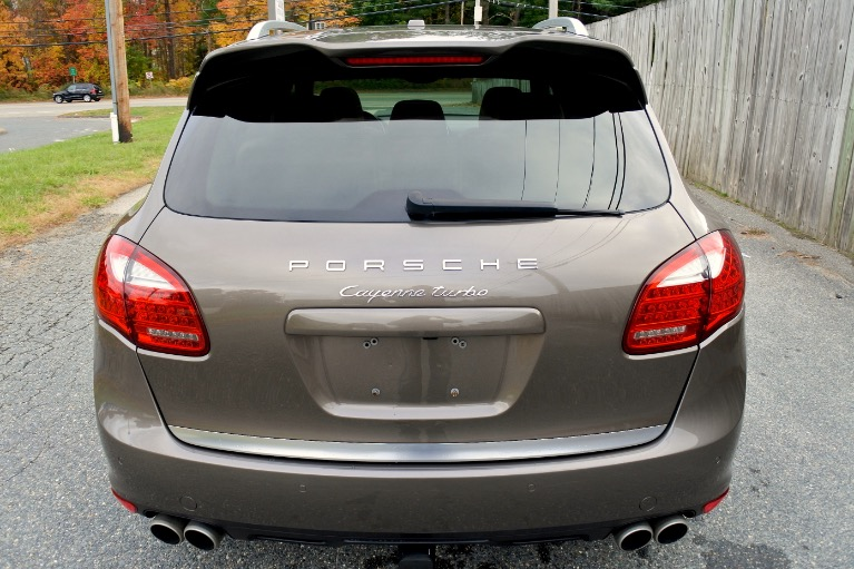 Used 2013 Porsche Cayenne Turbo AWD Used 2013 Porsche Cayenne Turbo AWD for sale  at Metro West Motorcars LLC in Shrewsbury MA 4