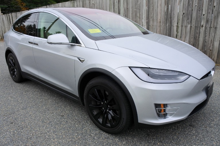 Used 2018 Tesla Model x 100D AWD Used 2018 Tesla Model x 100D AWD for sale  at Metro West Motorcars LLC in Shrewsbury MA 7