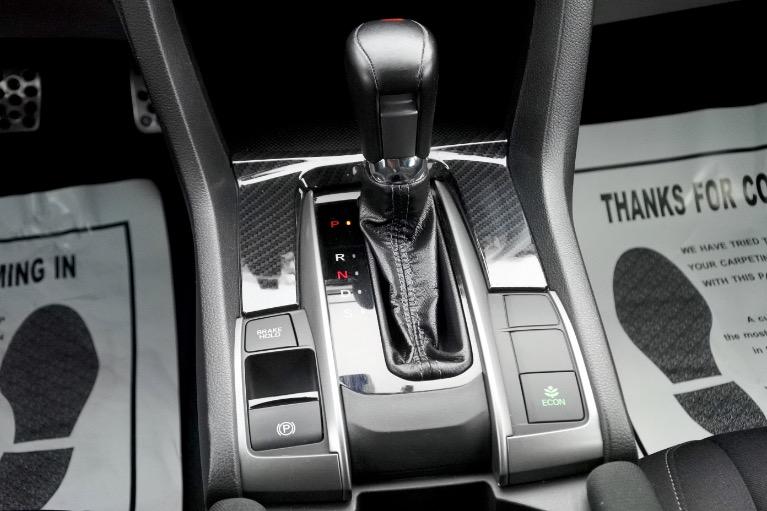Used 2017 Honda Civic Hatchback Sport CVT Used 2017 Honda Civic Hatchback Sport CVT for sale  at Metro West Motorcars LLC in Shrewsbury MA 13