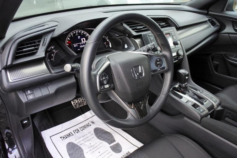 Used 2017 Honda Civic Hatchback Sport CVT Used 2017 Honda Civic Hatchback Sport CVT for sale  at Metro West Motorcars LLC in Shrewsbury MA 14