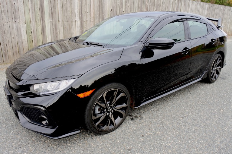 Used Used 2017 Honda Civic Hatchback Sport CVT for sale $16,800 at Metro West Motorcars LLC in Shrewsbury MA