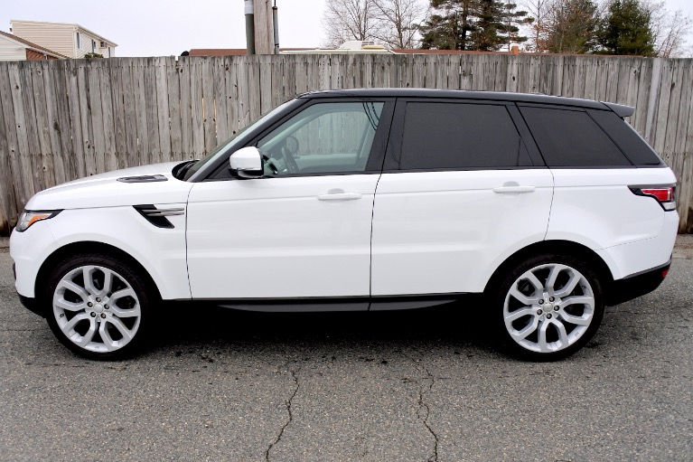 Used 2014 Land Rover Range Rover Sport SE Used 2014 Land Rover Range Rover Sport SE for sale  at Metro West Motorcars LLC in Shrewsbury MA 2