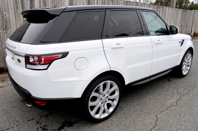 Used 2014 Land Rover Range Rover Sport SE Used 2014 Land Rover Range Rover Sport SE for sale  at Metro West Motorcars LLC in Shrewsbury MA 5