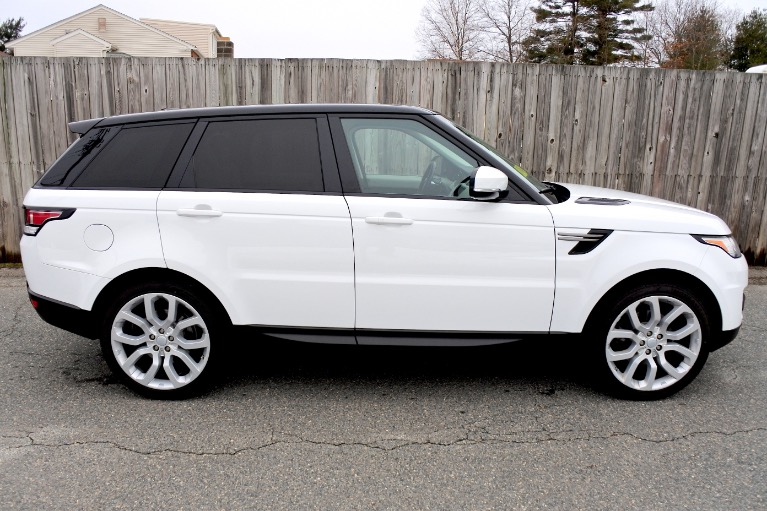 Used 2014 Land Rover Range Rover Sport SE Used 2014 Land Rover Range Rover Sport SE for sale  at Metro West Motorcars LLC in Shrewsbury MA 6