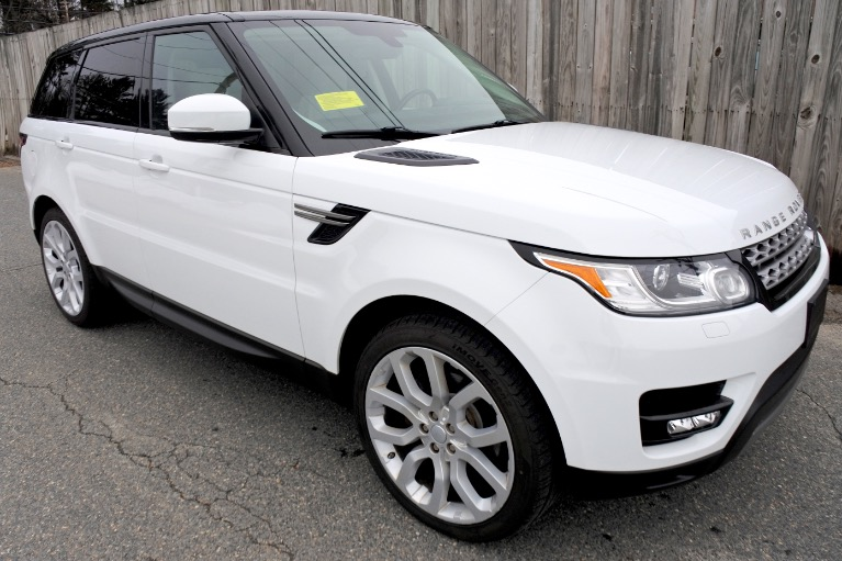 Used 2014 Land Rover Range Rover Sport SE Used 2014 Land Rover Range Rover Sport SE for sale  at Metro West Motorcars LLC in Shrewsbury MA 7